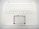 "KB Topcase - 90% NEW White Top Case Palm Rest with Taiwan Taiwanese Chinese Mandarin Keyboard for Apple MacBook 13"" A1342 2009 2010"