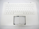 "KB Topcase - 90% NEW Top Case Palm Rest with English UK Keyboard for Apple MacBook 13"" A1342 White 2009 2010"