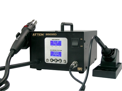 ATTEN AT8502D 2 in 1 Soldering SMD Intelligent Lead-Free Rework Station