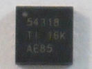 IC - TPS54318RTER QFN 16pin Power IC Chip