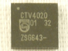 IC - CTV4020 Controller chipset CTV 4020
