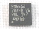 IC - ST Microelectronics PM6652 QFN 32pin Power IC chipset PM 6652