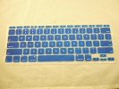 "Keyboard - Keyboard Cover Skin 0.1mm M&S Crystal Guard for Apple MacBook Air 11"" A1370 2010 2011 Blue"