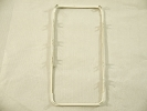 Parts for iPhone 4S - NEW Touch Digitizer Screen Middle Frame Bezel for iPhone 4S White A1387
