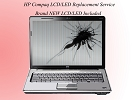 Mac LCD/GLASS Replacement - HP Compaq Laptop Broken Screen & LCD / LED Replacement Repair Service