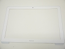 "LCD Front Bezel - USED White LCD Front Bezel for Apple Macbook 13"" A1342 2009 2010"