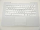 "KB Topcase - 95% NEW White Top Case Palm Rest with European EU Keyboard and Trackpad Touchpad for Apple MacBook 13"" A1181 2006 2007 2008 2009"