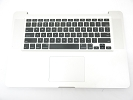 "KB Topcase - Grade A Top Case Palm Rest with US Keyboard Trackpad for Apple Macbook Pro 15"" A1286 2008"