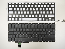 "Keyboard - USED Swiss Keyboard Backlight for Apple Macbook Pro 17"" A1297 2009 2010 2011"