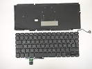 "Keyboard - USED Norwegian Keyboard with Backlight for Apple MacBook Pro 17"" A1297 2009 2010 2011"