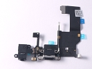 Parts for iPhone 5 - NEW Black Dock Charging Port Headphone Microphone Connector 821-1699-A for iPhone 5 A1248 A1249