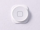 Parts for iPhone 5 - NEW White Home Menu Button Key Replacement part for iPhone 5 A1248 A1249