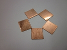 Cooling Material - 1x 0.5mm Copper Shim