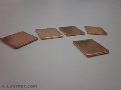 1x 1.2mm THERMAL COPPER SHIM FOR DV9000 AMD MOTHERBOARD