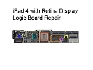 iPad Repair - iPad 4 with Retina Display Logic Board Repair Service