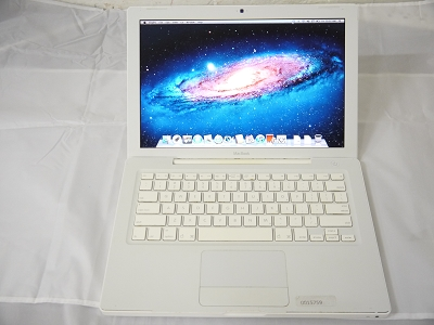 "USED Fair Apple White MacBook 13"" A1181 2007 MB062LL/A EMC 2139 2.16 GHz Core 2 Duo 2GB Ram 160GB HDD Intel GMA 950 Laptop"