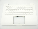 "KB Topcase - 85% NEW Top Case Palm Rest with US Keyboard No Speaker for Apple MacBook 13"" A1342 White 2009 2010"