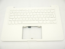 "KB Topcase - 85% NEW Top Case Palm Rest with Italian Italy Keyboard No Speaker for Apple MacBook 13"" A1342 White 2009 2010"