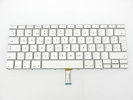 "Keyboard - 90% NEW Silver Spanish Keyboard Backlit Backlight for Apple Macbook Pro 15"" A1260 2008 US Model Compatible"