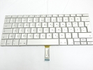 "Keyboard - 90% NEW Silver Turkish Keyboard Backlight for Apple Macbook Pro 17"" A1229 2007 US Model Compatible"