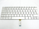 "Keyboard - 99% NEW Silver Swiss Keyboard Backlight for Apple Macbook Pro 17"" A1229 2007 US Model Compatible"