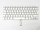 "Keyboard - 99% NEW Silver French Keyboard Backlight for Apple Macbook Pro 17"" A1229 2007 US Model Compatible"
