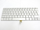 "Keyboard - 90% NEW Silver Belgian Keyboard Backlight for Apple Macbook Pro 17"" A1229 2007 US Model Compatible"