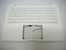"KB Topcase - 80% NEW White Top Case Palm Rest with US Keyboard for Apple MacBook 13"" A1342 2009 2010"