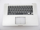 "KB Topcase - Grade A Top Case Palm Rest US Keyboard without Trackpad Touchpad for Apple Macbook Pro 15"" A1286 2011 2012"