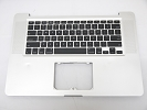 "KB Topcase - Grade B Top Case Palm Rest US Keyboard without Trackpad Touchpad for Apple Macbook Pro 15"" A1286 2009"