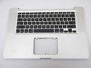 "KB Topcase - Grade B Top Case Palm Rest US Keyboard without Trackpad Touchpad for Apple Macbook Pro 15"" A1286 2010"