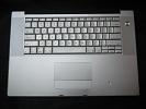 "KB Topcase - Keyboard Top Case Palm Rest with Trackpad and Trackpad Cable for Apple MacBook Pro 15"" A1211 2006"