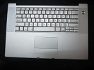 "KB Topcase - Keyboard Top Case Palm Rest with Trackpad and Trackpad Cable for Apple MacBook Pro 15"" A1150 2006"