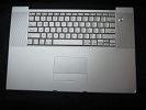 "KB Topcase - Keyboard Top Case Palm Rest with Trackpad and Trackpad Cable for Apple MacBook Pro 17"" A1212 2007"