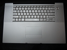"KB Topcase - Keyboard Top Case Palm Rest with Trackpad and Trackpad Cable for Apple MacBook Pro 17"" A1151 2006"