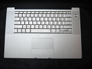 "KB Topcase - 90% NEW Keyboard Top Case Palm Rest with Trackpad and Trackpad Cable for Apple MacBook Pro 15"" A1226 2007"