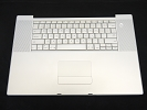 "KB Topcase - Keyboard Top Case Palm Rest with Trackpad and Trackpad Cable for Apple MacBook Pro 17"" A1229 2007"