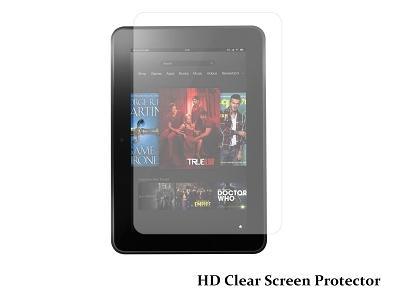 HD Clear Screen Protector Cover for Amazon Kindle Fire HD HDX 8.9""