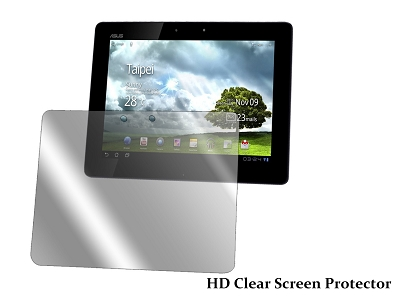 HD Clear Screen Protector Cover for ASUS TF201 10.1""