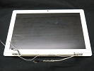 LCD/LED Screen - White Glossy LCD Screen Display Assembly for Apple Macbook A1181 2006