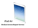 iPad Parts Replacement - iPad Air 5th Gen Broken Digitizer Touch Screen Glass Repair Replacement Service