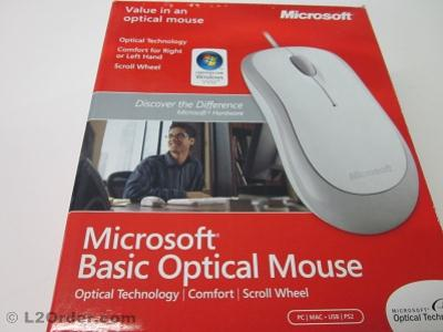 NEW OEM Microsoft USB PS/2 Optical Mouse With Scroll Wheel