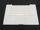 "KB Topcase - 99% NEW White Top Case Palm Rest with US Keyboard and Trackpad Touchpad for Apple MacBook 13"" A1181 2006 Mid-2007"