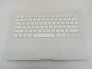 "KB Topcase - 99% NEW White Top Case Palm Rest with US Keyboard and Trackpad Touchpad for Apple MacBook 13"" A1181 Late 2007 2008 2009"