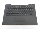 KB Topcase - 99% NEW Black Top Case Palm Rest with French Keyboard and Trackpad Touchpad for A1181 2006 Mid 2007