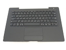 KB Topcase - 99% NEW Black Top Case Palm Rest with Taiwanese Keyboard and Trackpad Touchpad for A1181 2006 Mid 2007