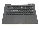 KB Topcase - 99% NEW Black Top Case Palm Rest with Thai Keyboard and Trackpad Touchpad for A1181 2006 Mid 2007
