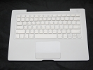 "KB Topcase - 99% NEW White Top Case Palm Rest with Thai Keyboard Trackpad Touchpad for Apple MacBook 13"" A1181 2006 2007 also Compatible with 2008 2009"