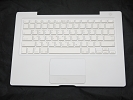 "KB Topcase - 99% NEW White Top Case Palm Rest with Korean Keyboard Trackpad Touchpad for Apple MacBook 13"" A1181 2006 2007 also Compatible with 2008 2009"