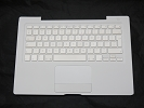 "KB Topcase - 99% NEW White Top Case Palm Rest with UK Keyboard Trackpad Touchpad for Apple MacBook 13"" A1181 2006 2007 also Compatible with 2008 2009"
